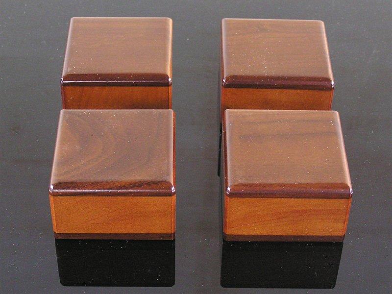 画像2: 木製オリジナル・インシュレーター <4個セット><6個セット>